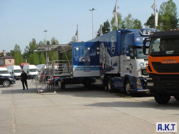 Международная выставка Road Show' 2014 в гостях у А.К.Т.